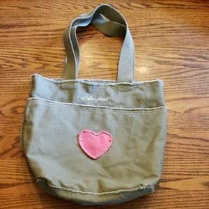 Life is good Canvas Bag Distressed look